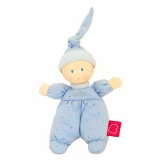 Bonikka Teether Doll Blue Babygro